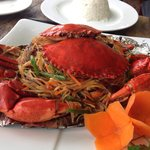 Lunch! Kep crab