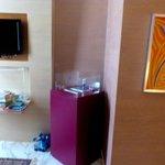 Kühlschrank und Safe