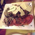 Huge steak dish