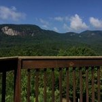 view from the back deck.  1 of two