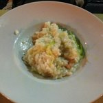 the so call citrus risotto with shrimps