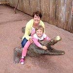 Croc-wrestling!