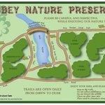 Abbey Nature Preserve Map