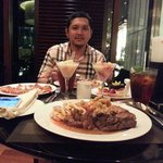Dinner with my wife...