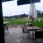 Golf course from lobby
