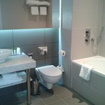 immaculate bathroom with lovely toiletries