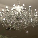 Lights in dining room!!