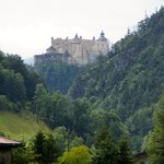 Burg Hohenwerfen aus der Ferne