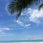 plage de Carate : une carte postale de rêve !