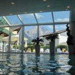 vue de la piscine intérieure