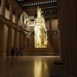 statue of Athena (built to scale)