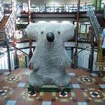 Giant Koala inside the mall