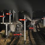 Night time at Swanwick Junction