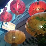 Tasteful decor and Chinese vintage-like atmosphere