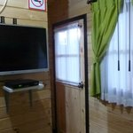 inside room, TV