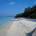 plage de sables blancs