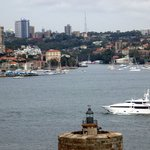 The hotel & bar are very close to this area of the water in Sydney, fun area the entire historic