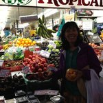 At the Big Central Market