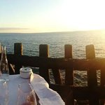 Dinner with a stunning view
