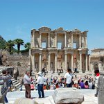 The Library of Celsus at Ephesus (end of main avenue)