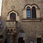 Palazzo Corvaja courtyard
