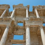 Detail of the Library of Celsus at Ephesus
