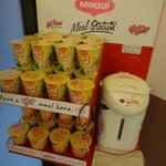 Instant noodle also available