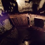 LOCKPORT CAVE where miners stood when a cave in