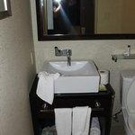 Küçük bir lavabo
