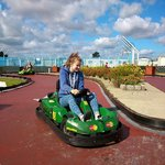 Go carts only 50p so lots of goes :-)