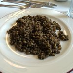 Fench lentils side dish