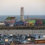 Vista panorâmica do Pier