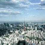 Zimmeraussicht auf Tokyo Tower