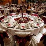 Close-up of table  Ballroom