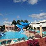 Fun outdoor pool!