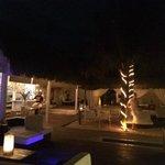 Restaurante e suítes vista mar