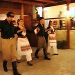 Traditional dancers #nostos_restaurant