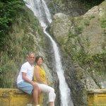 Waterfall Dona Juana, a short distance from Gripinas
