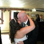 Our first dance at a married couple at The Waterfront