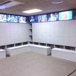 Locker room area (cordoned off)