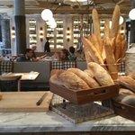 Bread baked fresh in their bakery.