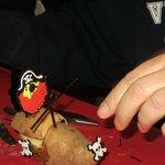 making our potato race car