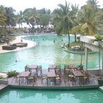 zwembad zicht