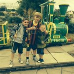 Grandsons - Harry, Jack & Paddy enjoying Pleasureland