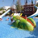 La piscine des enfants...
