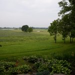 Fields adjoining the property