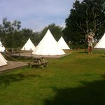 Teepee set out (nicer day)