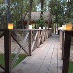 Destination dining pavilion