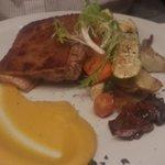 Cerdo con vegetales