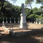 Gräber gestorbener Verwundeter, während des Krimkrieges (war Lazareth)